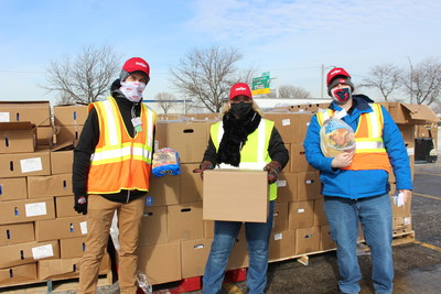 Meijer recently announced a donation of $1 million in turkeys to 10 food banks across the Midwest to help feed those in need. (PRNewsfoto/Meijer)
