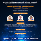 Global Professional Speakers Join Davos Online Communications Summit on February 25