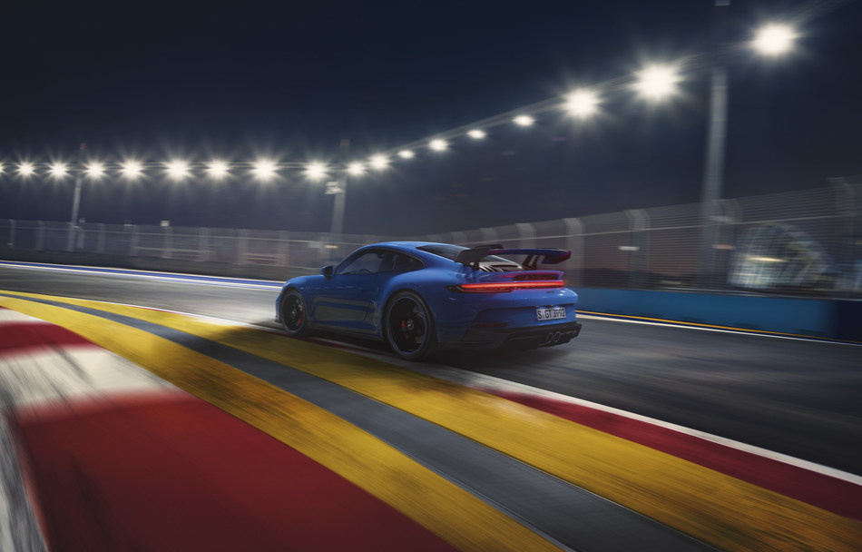 Porsche continues the tradition of transferring what it learns on the race track directly to cars designed for the road in its latest model, the new 2022 911 GT3.