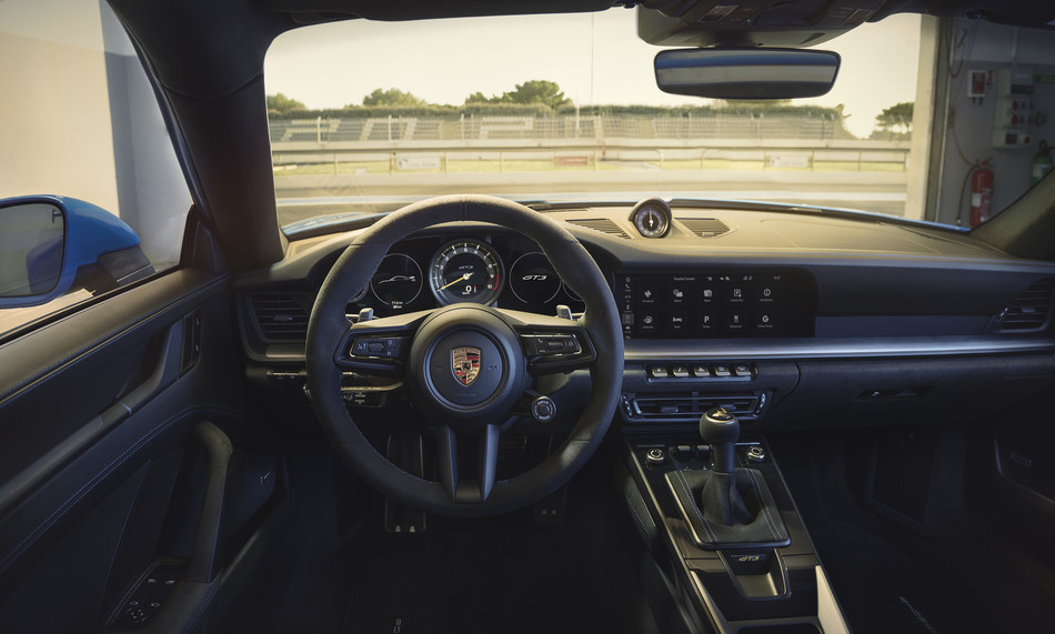 """""""With a soul that's born in the Motorsport, the new 911 GT3 sends a driver's heart racing,"""" said Kjell Gruner, President and CEO of Porsche Cars North America, Inc."""