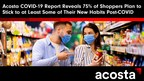 New Acosta COVID-19 Report Reveals 75% of Shoppers Plan to Stick to at Least Some of Their New Habits Post-COVID