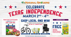 Natural Grocers™ Goes Big With Texas Independence Day Celebration On March 2-4, Including Donations From All Locations Towards Hunger Relief In Texas