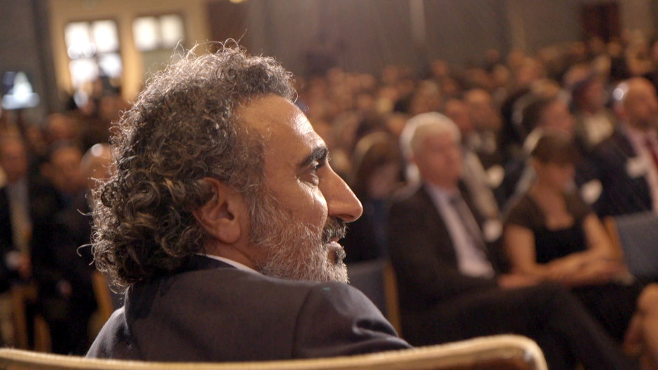 """In February, VICE will debut a new documentary called """"Moving Humanity Forward,"""" a film focused on Chobani founder and CEO Hamdi Ulukaya's """"anti-CEO"""" playbook. (Photo courtesy of Chobani/VICE)"""