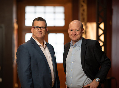 Rich Tourtellot (left) and David Tanksley (right) join as new Senior Vice Presidents of Sales. Photo courtesy of Vibrant Image.