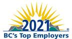 """引领大流行的强大和全面的回应:2021名获奖者的""""BC的顶级雇主""""宣布"""