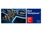 """GA technologies Recognized for Second Straight Year as One of Japan's """"Great Place to Work"""""""
