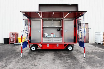 EZ STAK and Wellness Systems Inc partnered together to offer a mobile-ready station that allows companies to safely conduct COVID-19 screening and testing, distribute personal protective equipment, and provide COVID-19 vaccination.