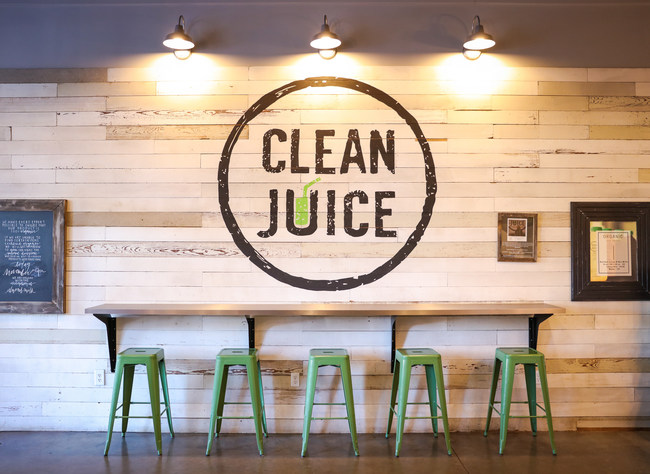 "Landon and Kat Eckles started Clean Juice® in 2016 as the first and only USDA-certified organic juice bar franchise and is rooted in the ""healthy body and a strong spirit"" (3 John 1-2) scripture and highlights the importance of an organic, plant-based diet. Clean Juice® offers organic cold-pressed juices, smoothies, wraps, açaí bowls, toasts, Greenoa® salad bowls, and other healthy foods in a warm and welcoming retail experience. Clean Juice continues to seek and welcome qualified franchisees."