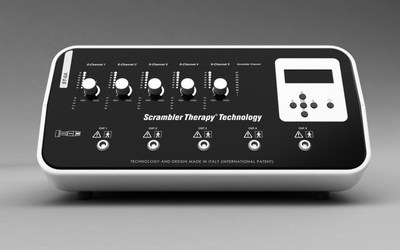 Scrambler Therapy® device ST-5A (Made in Italy). Replaces the previous model MC-5A.