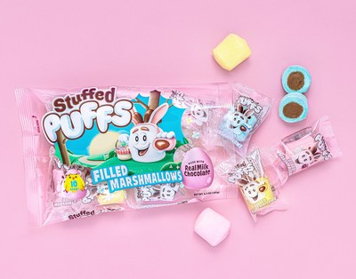 Stuffed Puffs® welcomes the sweetest makeover with 10-single servings of its classic filled marshmallows for a limited time