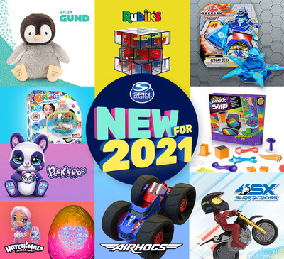 Spin Master Reveals 2021 Toy Line Up (CNW Group/Spin Master)