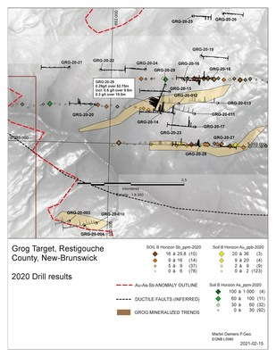 Grog Target (CNW Group/X-Terra Resources Inc.)