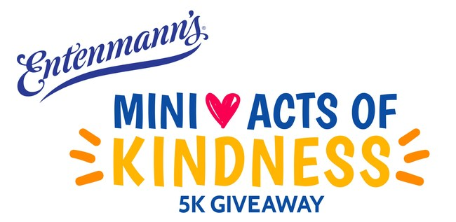 Entenmann's® Minis Encourages Sweet Acts of Kindness with the Mini Acts of Kindness 5K Giveaway
