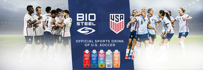 BioSteel becomes the official sports drink sponsor for U.S. Soccer. (CNW Group/BioSteel Sports Nutrition Inc.)