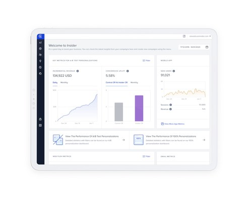 Insider launches all-new UX to help enterprise marketers build individualized cross-channel experiences