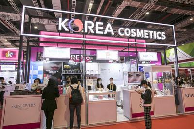 Korean firms enjoy market opportunities at CIIE (PRNewsfoto/CIIE)