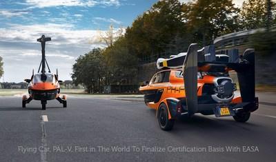 Flying Car Pal-V FlyDrive