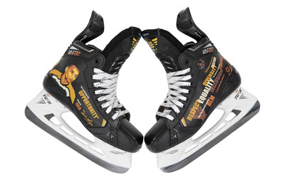 Recognizing Black History Month, Bauer Hockey designed a custom skate graphic honoring Willie O'Ree, the NHL's first Black player, which will be worn by several NHL players during February.