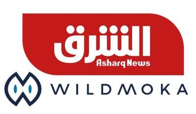 Wildmoka Asharq News logo (PRNewsfoto/Asharq News)