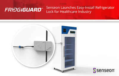 The FridgiGuard refrigerator lock is a self-contained unit that attaches easily to cold storage units and general-purpose refrigerators that are commonly used by hospitals and other medical facilities.