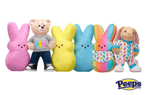 Limited-Edition PEEPS(R) Build-A-Bear(R) Collection