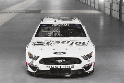 To symbolize becoming the first carbon neutral NASCAR race team, Roush Fenway and Castrol unveiled a unique paint scheme on Ryan Newman's No. 6 Castrol racecar for the Daytona race on February 21, 2021. Image credit: Action Sports Photography
