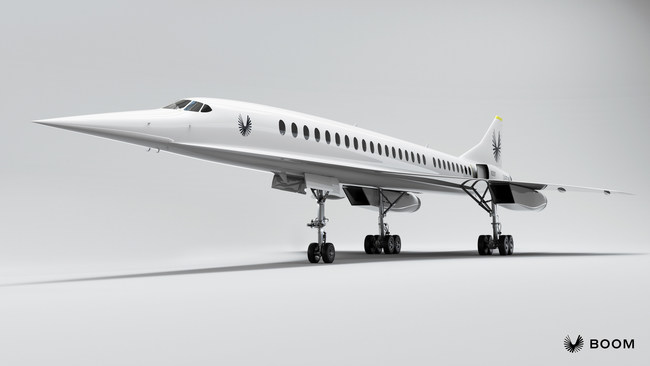 Overture, Boom Supersonic's historic commercial airliner, is designed and committed to industry-leading standards of speed, safety, and sustainability.
