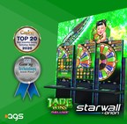 AGS' Starwall™ x Orion Immersive Video Canvas Surpasses 350 Games