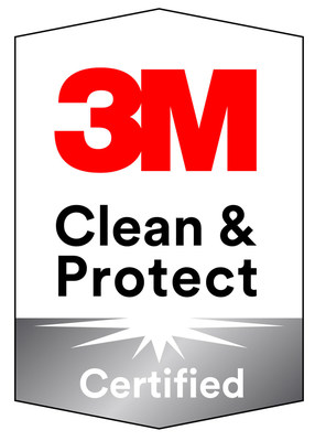 The new 3M™ Clean & Protect Certified Badge Program is a comprehensive system for cleaning, monitoring and protecting facilities.