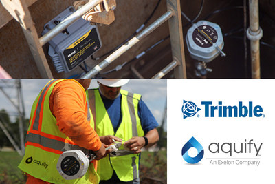 Exelon's Aquify Leverages Trimble's Digital Water Technology to Expand its Analytics Services for U.S. Water Utilities to Improve Sustainability and Infrastructure Performance