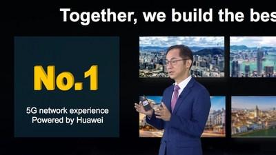 Ryan Ding: La tecnología 5G ilumina el futuro (PRNewsfoto/Huawei)