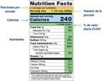 Utilice la etiqueta de información nutricional para elegir opciones alimentarias buenas para el corazón
