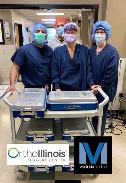 Vested Medical / OrthoIllinois Completes Successful Pilot of Off-Site Sterilization Processing