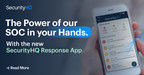 SecurityHQ Release New Mobile App...