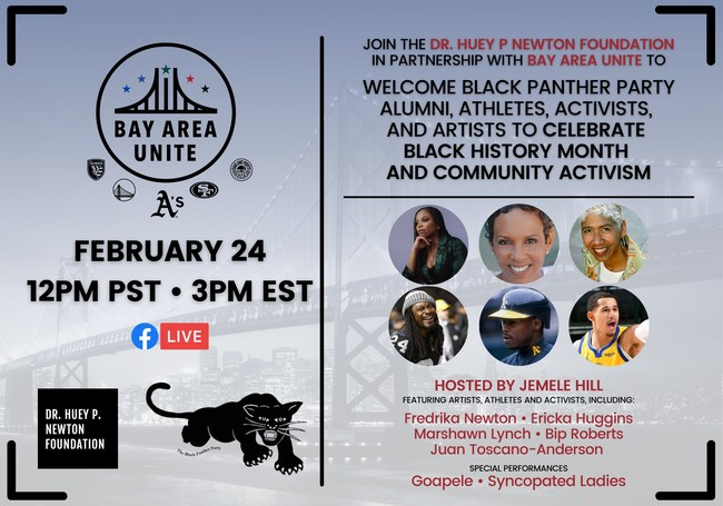 Dr. Huey P Newton Foundation Save the Date