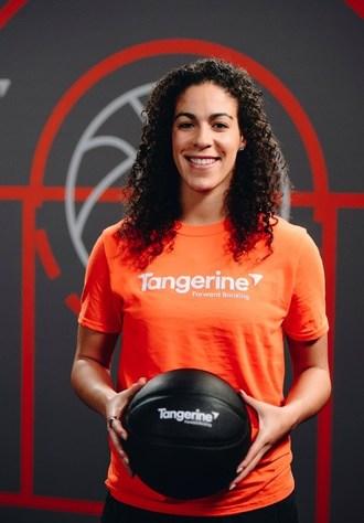 与WNBA全明星,KIA护士的橘子合作伙伴,作为橘子冠军,通过体育中的青少年来帮助授权社区。(CNW集团/橘子)