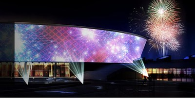 Featuring 20,000 & 30,000 lumen laser projectors with incredible 4K resolution with HDR. Ultimate Outdoor Entertainment® and Panasonic are revolutionizing the drive-in movie experience!