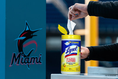 Play Ball! Miami Marlins Step Up To The Plate With Lysol To Strengthen Ballpark Disinfection Protocols WeeklyReviewer
