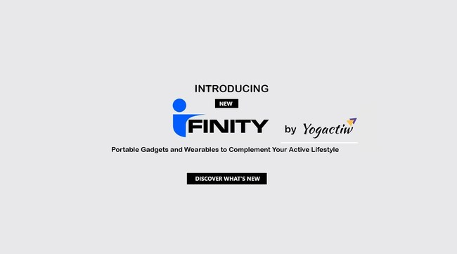 Ifinity launch banner