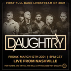 Daughtry Embraces the Next Frontier of Live Music with Gigs Live Interactive Livestream