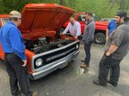 Auto dealer gets creative to keep mechanics working during pandemic with classic car restoration