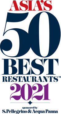 Asia's 50 Best Restaurants 2021 Logo (PRNewsfoto/Asia's 50 Best Restaurants)