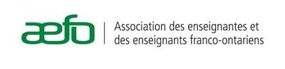 Logo : Association des enseignantes et enseignants franco-ontariens (Groupe CNW/Association des enseignantes et des enseignants franco-ontariens (AEFO)) (Groupe CNW/Association des enseignantes et des enseignants franco-ontariens (AEFO))