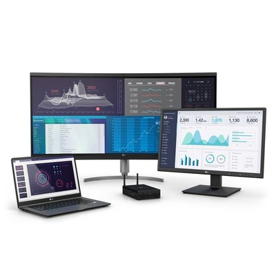 LG's All-in-One thin clients.