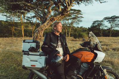"""""""I've put in many miles aboard Pan America, in beautiful and remote parts of the world and have experienced the innovations and capabilities that will unlock our brand's passion for adventure for more people around the world,"""" said Jochen Zeitz, chairman, president and CEO Harley-Davidson. """"I am truly excited about Pan America. Adventure touring is a natural fit for Harley-Davidson."""""""