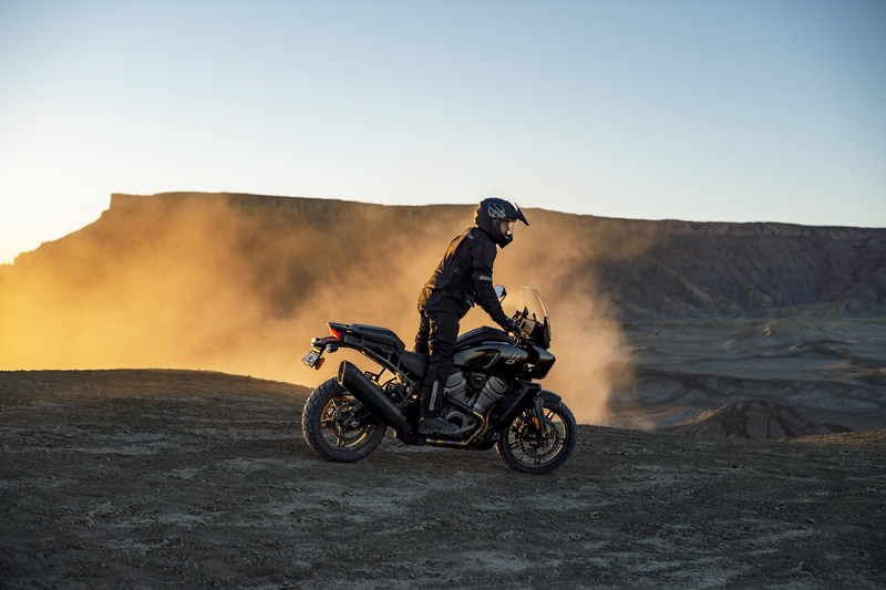 Adventure touring riders seek out new experiences in any direction, on any terrain, to explore the undiscovered, sleep under the stars and immerse themselves in the journey. The Harley-Davidson Pan America motorcycle was built for these explorers, to go further, until they find themselves in places few have traveled.