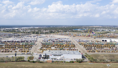 Ritchie Bros. sells 12,000+ items for US$191+ million during six-day premier global auction in Orlando, FL (Feb 15 – 20) (CNW Group/Ritchie Bros.)