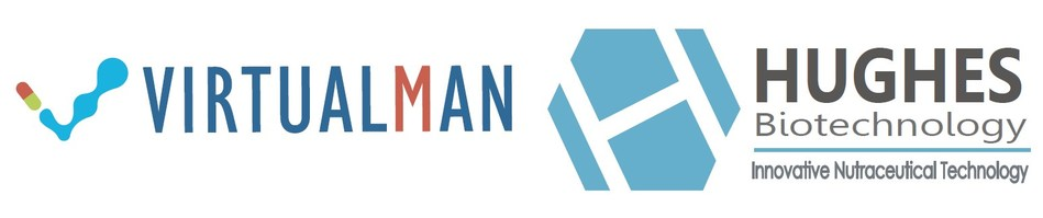 VIRTUALMAN & Hughes Biotechnology Logos