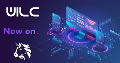 The WILC token is now available on Uniswap