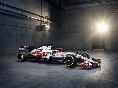 The Alfa Romeo Racing ORLEN Formula One team unveils its 2021 contender, the C41